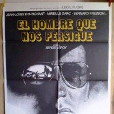 Cine: EL HOMBRE QUE NOS PERSIGUE. Lote 33646779