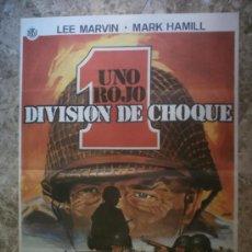 Cinéma: UNO ROJO DIVISION DE CHOQUE. LEE MARVIN, MARK HAMILL. AÑO 1980.. Lote 33654980