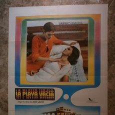 Cine: LA PLAYA VACIA. AMPARO RIVELLES, JORGE RIVERO, PILAR VELAZQUEZ. AÑO 1977.. Lote 33658255