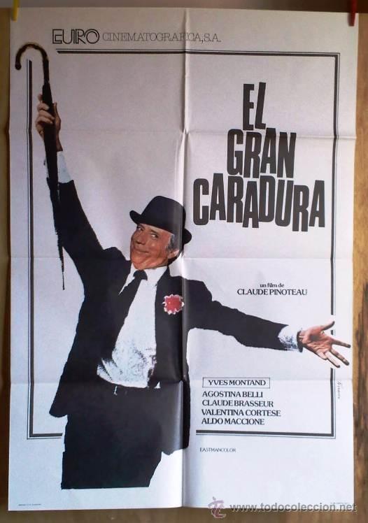 EL GRAN CARADURA (Cine - Posters y Carteles - Comedia)