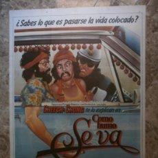 Cine: COMO HUMO SE VA. CHEECH, CHONG. AÑO 1980.. Lote 33728562