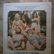 Cine: VENDEMOS CHOCOLATE. CHEECH MARIN, THOMAS CHONG. AÑO 1981.. Lote 33747847