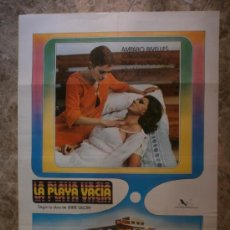 Cine: LA PLAYA VACIA. AMPARO RIVELLES, JORGE RIVERO, PILAR VELAZQUEZ. AÑO 1977.. Lote 33758609