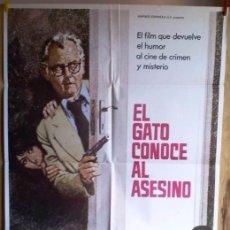 Cine: EL GATO CONOCE AL ASESINO. Lote 33759624