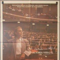 Cine: LA DIPUTADA,VICTORIA VERA, JAVIER ESCRIBA CARTEL DE CINE ORIGINAL 70X100 APROX (2620). Lote 33763115