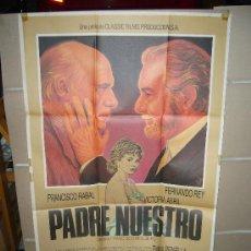 Cine: PADRE NUESTRO FERNANDO REY PACO RABAL VICTORIA ABRIL POSTER ORIGINAL 70X100 Q. Lote 33764288