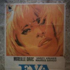 Cine: EVA A LA FRANCESA. MIRIELLE DARC, HARDY KRUGER, MAURICE BIRAUD. AÑO 1969.. Lote 33799924