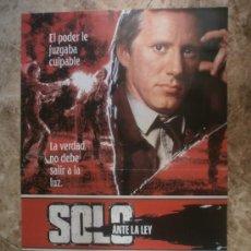 Cine: SOLO ANTE LA LEY. JAMES WOODS, ROBERT DOWNEY JR.. Lote 33854460
