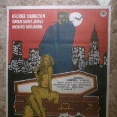 Cine: AMOR AL PRIMER MORDISCO. GEORGE HAMILTON, SUSAN SAINT JAMES. AÑO 1979.. Lote 33893289