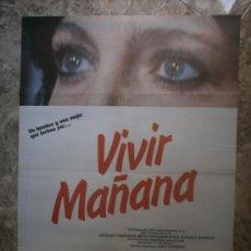 Cine: VIVIR MAÑANA. ANTONIO FERRANDIS, MERCEDES SAMPIETRO, RAFAELA APARICIO. AÑO 1983.. Lote 110438982