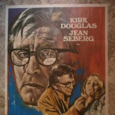 Cine: LA TERCERA VICTIMA - KIRK DOUGLAS, JEAN SEBERG. AÑO 1974. Lote 86136811