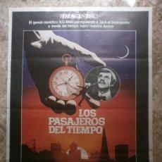 Cine: LOS PASAJEROS DEL TIEMPO - MALCOLM MCDOWELL, DAVID WARNER, MARY STEENBURGEN. AÑO 1979. Lote 85647328