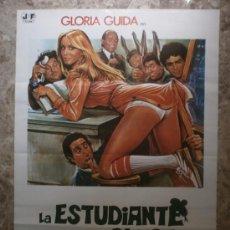 Cine: LA ESTUDIANTE EN LA CLASE DE LOS SUSPENSOS. GLORIA GUIDA. AÑO 1978.. Lote 112215056