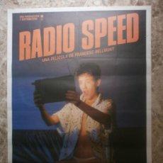 Cine: RADIO SPEED. SERGI MATEU, SILVIA SABATE, PEP MUNNE, CARME CONESA. AÑO 1986.. Lote 33995575