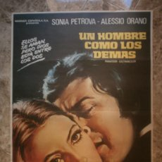 Cine: UN HOMBRE COMO LOS DEMAS - SONIA PETROVA, ALESSIO ORANO.. Lote 85647871