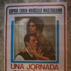 Cine: UNA JORNADA PARTICULAR. SOPHIA LOREN, MARCELLO MASTROIANNI. AÑO 1977.. Lote 89958214
