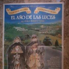 Cine: EL AÑO DE LAS LUCES. JORGE SANZ, MARIBEL VERDU. AÑO 1986.. Lote 34034568