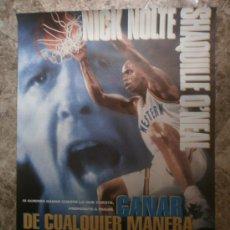 Cinema: GANAR DE CUALQUIER MANERA. NICK NOLTE, SHAQUILLE O'NEAL. AÑO 1994.. Lote 34048622