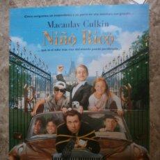 Cine: NIÑO RICO. MACAULAY CULKIN. AÑO 1994.. Lote 34064269