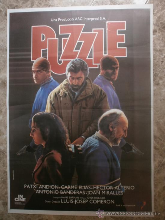 PUZZLE. PATXI ANDION, CARME ELIAS, HECTOR ALTERIO. (Cine - Posters y Carteles - Clasico Español)
