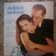Cine: OBJETO DE SEDUCCION. JOHN MALKOVICH, ANDIE MACDOWELL.. Lote 34077424