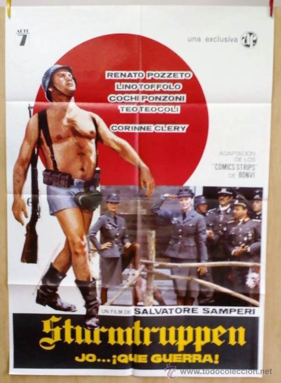 STURMTRUPPEN JO... ¡QUE GUERRA! (Cine - Posters y Carteles - Comedia)