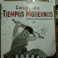 Cine: TIEMPOS MODERNOS, CON CHARLES CHAPLIN. POSTER-REPRODUCCIÓN.. Lote 143069406