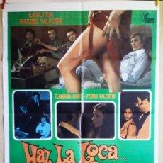 Cine: HAZ LA LOCA... NO LA GUERRA. Lote 38512859