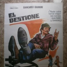 Cine: EL BESTIONE. GIANCARLO GIANNINI, MICHEL CONSTANTIN. AÑO 1975.. Lote 34140408