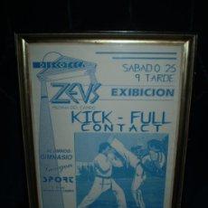 Cine: CARTEL DE EXIBICION ,MEDINA DEL CAMPO KICK-FULL CONTACT. Lote 34145948