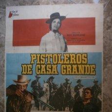 Cine: PISTOLEROS DE CASA GRANDE. ALEX NICOL, MERCEDES ALONSO. AÑO 1973.. Lote 34191350