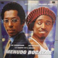 Cine: MENUDO BOCAZAS,CARTEL DE CINE ORIGINAL 70X100 CM CON ALGUN DEFECTO A 1€,VER FOTO (2282). Lote 34204332
