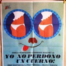 Cine: YO NO PERDONO UN CUERNO. Lote 34212322