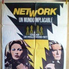Cine: NETWORT UN MUNDO IMPLACABLE. Lote 34212816