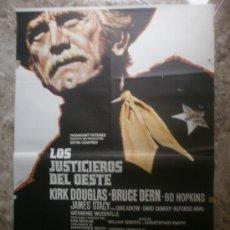 Cine: LOS JUSTICIEROS DEL OESTE. KIRK DOUGLAS, BRUCE DERN. AÑO 1975.. Lote 34214740