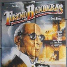 Cine: TIRANO BANDERAS,ANA BELEN, JUAN DIEGO CARTEL DE CINE ORIGINAL 70X100 APROX (3824). Lote 34224637