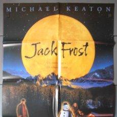 Cine: JACK FROST, CARTEL DE CINE ORIGINAL 70X100 APROX (3952). Lote 34245914