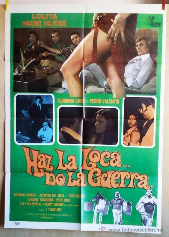HAZ LA LOCA... NO LA GUERRA (Cine - Posters y Carteles - Comedia)