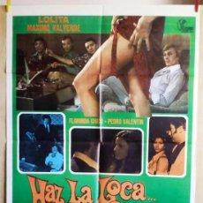 Cine: HAZ LA LOCA... NO LA GUERRA. Lote 34244010