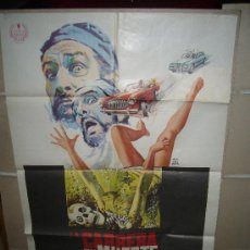 Cine: LA CARRERA DE LA MUERTE VINCENT PRICE PETER CUSHING CHRISTOPHER LEE POSTER ORIGINAL 70X100 YY. Lote 34248568