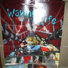 Cine: WAKING LIFE POSTER ORIGINAL 70X100 YY . Lote 34250641