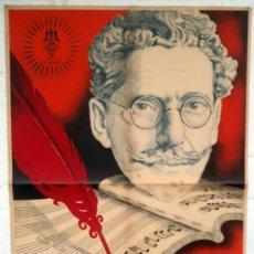 Cine: CARTEL POSTER CINE , LA DOLOROSA , ESTRENO AÑOS 1930 , CARRILERO ABAD , ORIGINAL. Lote 34265673