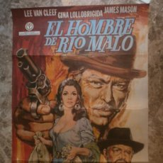 Cine: EL HOMBRE DEL RIO MALO. LEE VAN CLEEF, GINA LOLLOBRIGIDA, JAMES MASON. AÑO 1972.. Lote 34275608