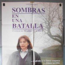 Cine: SOMBRAS EN UNA BATALLA,CARMEN MAURA CARTEL DE CINE ORIGINAL 70X100 APROX (4034). Lote 34288032