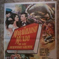 Cine: EL MARAVILLOSO MUNDO DE LOS HERMANOS GRIMM - LAURENCE HARVEY, CLAIRE BLOOM - AÑO 1976.. Lote 113773930