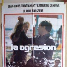 Cine: LA AGRESIÓN. Lote 34312794