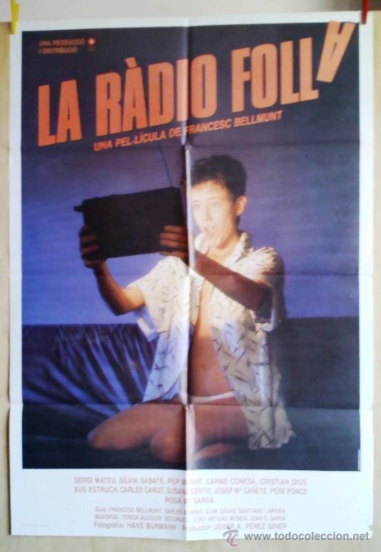 LA RADIO FOLLA (Cine - Posters y Carteles - Comedia)