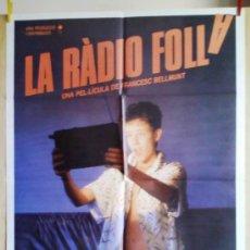 Cine: LA RADIO FOLLA. Lote 137930826