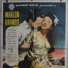 Cine: SAYONARA 1957 BRANDO POSTER ESTRENO. Lote 34352173