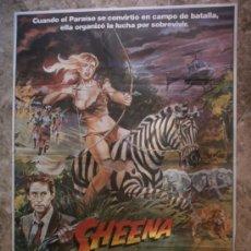 Cine: SHEENA REINA DE LA SELVA. TANYA ROBERTS, TED WASS, DONOVAN SCOTT. AÑO 1984.. Lote 34354837
